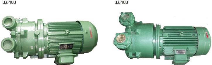 sz型水环式真空泵是一种泵与电机一体化的新结构真